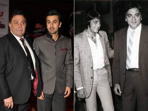 Bollywood celebs with their Dads