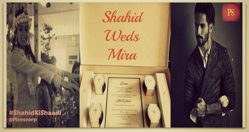 Shahid Ki shaadi