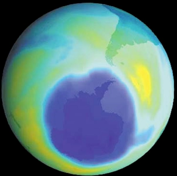 CFC And Hole In The Ozone Layer