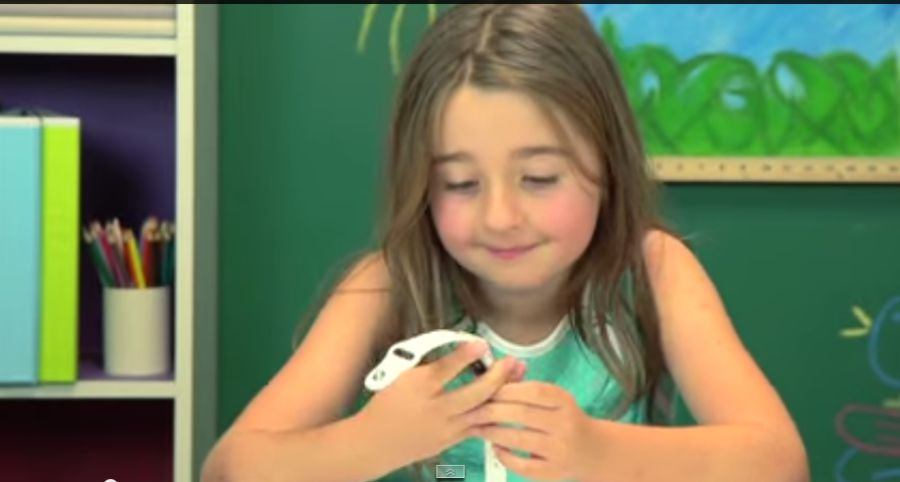 kids reacts on iwatch