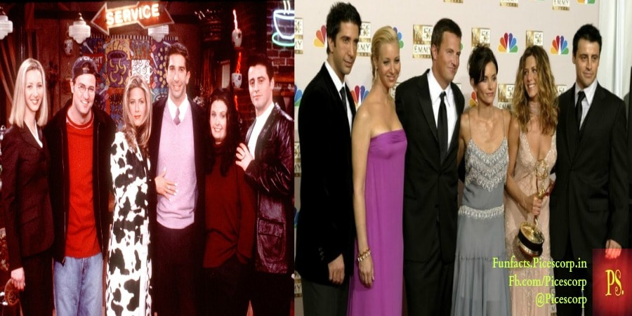 Friends Actor then and now