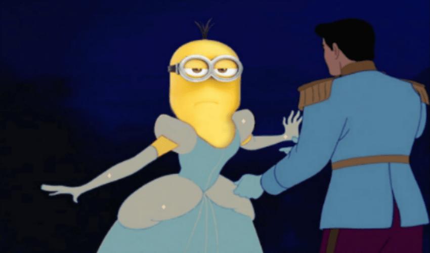Minions as disney princess
