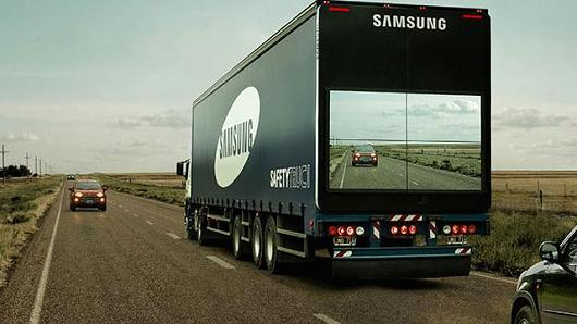 Samsung safty turck